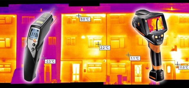 Épületszerkezetek hőtechnikai mérése Épületek energetikai jellemzőinek mérése Hőátadási tényező mérése Hőhidak kimutatása