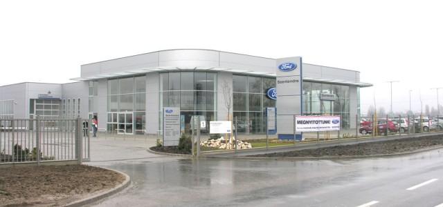 A FORD Közép európai Kereskedelmi Centrum területén lévő Bemutatóterem és Szervizállomás hőtechnikai és hőkamerás vizsgálata és szakvéleményezése Duna Autó megrendelésére
