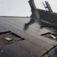 Budapest, VI. Városligeti fasor 10. 40 kW Napelem erőmű építés műszaki ellenőrzése