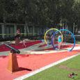 Sport gumipadlón keletkezett felületi meghibásodások kivizsgálása építőanyag -ipari igazságügyi szakvéleményben