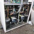 1023. Budapest, Lajos utca 26. A tetőn lévő CLIVET 94 (kW) folyadékhűtő meghibásodásának kivizsgálása roncsolásos vizsgálattal szakértői eszközökkel- szakvéleményezéssel
